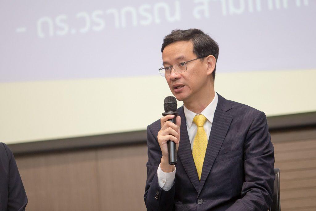 """""""คุณสราวุฒิ อยู่วิทยา"""" ประธานคณะกรรมการการพัฒนาการศึกษา สภาหอการค้าแห่งประเทศไทย"""